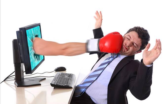 PC punching man