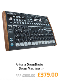 Arturia DrumBrute Drum Machine.