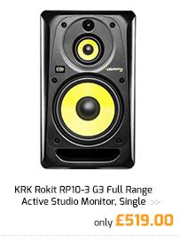 KRK Rokit RP10-3 G3 Full Range Active Studio Monitor.