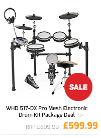 WHD 517-DX Pro Mesh Electronic Drum Kit Package Deal.