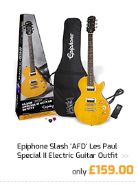 Epiphone Slash 'AFD' Les Paul Special II Electric Guitar Outfit.