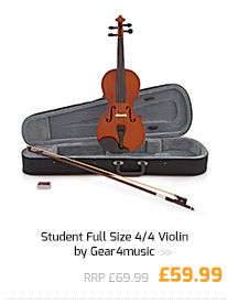Student Full Size 4/4 Violin by Gear4music.