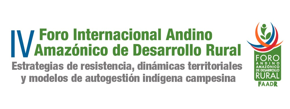 IV Foro Andino Amazónico